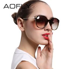 39c81892c3c61 AOFLY With Case Fashion Lady Sun glasses New Polarized Women Sunglasses  Vintage Alloy Frame Classic Brand Designer Shades Product Design  Simple is  Classic, ...