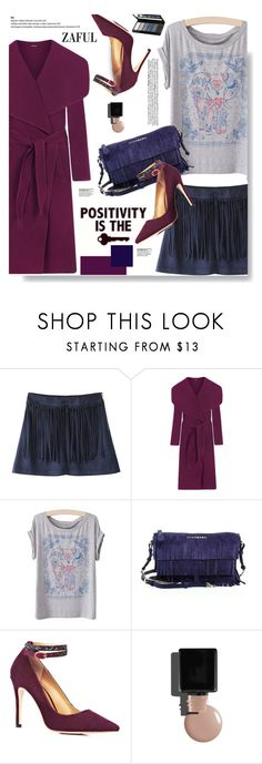"""""""Zaful.com: Positivity is the Key!!"""" by hamaly ❤ liked on Polyvore featuring WearAll, Burberry, Isadora, women's clothing, women, female, woman, misses, juniors and outfit"""