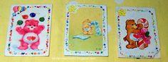 La infancia en los 80...: Pegatinas de los Osos amorosos / Care Bears's stic...