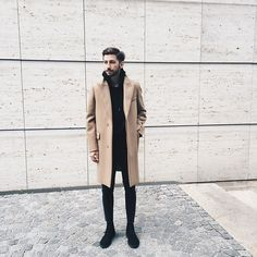 Get this look: http://lb.nu/look/7714386  More looks by Christoph Schaller: http://lb.nu/christophschaller  Items in this look:  Carven Coat, Tres Bien Hoodie, Acne Jeans, Clarks Boots   #bohemian #casual #elegant