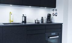 Schwarz, das neue Weiß – Exklusive schwarz matt Küche mit OSB   Küchenhaus Thiemann aus Overath bei Köln, Bonn, Bergisch Gladbach
