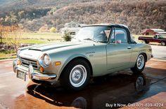 1970  Datsun 2000 Fairlady Roadster SRL311 MATCH NUMBERS