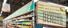 Whole Foods Market: Bradburn, décor, signage, environmental graphics and identity by Denver based EGD firm, ArtHouse Design