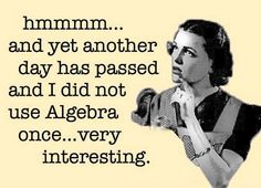 My thoughts on math