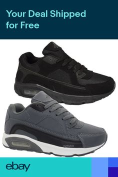 62d52264e6233f BOYS RUNNING JOGGING CASUAL TRAINERS AIR INSPIRED SPORT P.E. FASHION LACE  SHOES