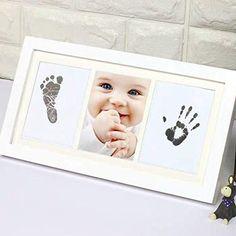 Baby Handprint Kit, Born Baby Photos, Baby Kit, Mom Baby, Keepsake Baby Gifts, Baby Frame, Baby Footprints, Newborn Baby Gifts, Baby Store