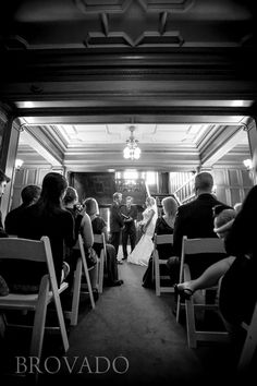 Wedding Ceremony At Glensheen Mansion In Duluth Mn