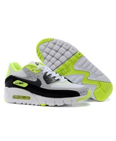 new arrival 3e096 879af Mens Nike Air Max 90 Grey Green Black 6809331-187