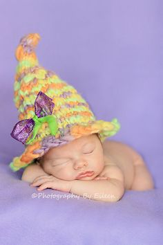 Ready to Ship Witchs Brew Hat ... Hand dyed Merino wool....Great Halloween Fall  Newborn Photo Prop via Etsy