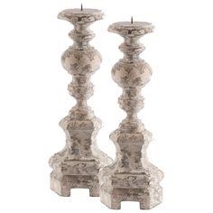 Aidan Gray Decor Petite Roma Candlestick Set of 2 - Final Sale @Layla Grayce