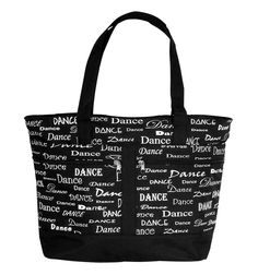 Danshuz Dance Fonts Dance Tote
