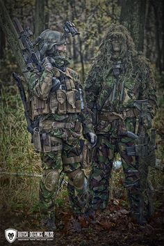 Dutch special forces.