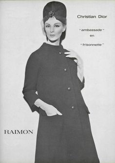 1962 Christian Dior - L'OFFICIEL DE LA MODE n°485-486 de 1962 - page 203