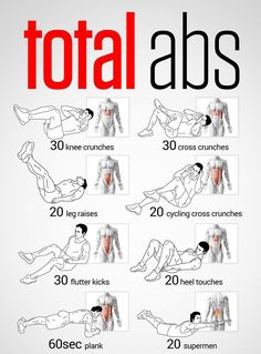 Total Abs. Flat Stomach Workout. Fit Abs - Get ready for the Hollywood Half Marathon! www.HollywoodHalfMarathon.com - Ab Workout