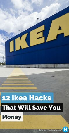 We all love Ikea, just admit it already! Here are 12 awesome Ikea hacks that will make you shopping experience better and save you more money! www.howtoliveinth...