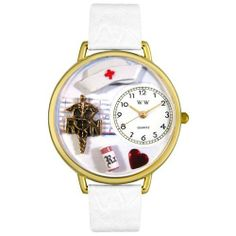 Whimsical Watches Unisex G0620008 RN White Leather Watch Whimsical Watches. $40.99. Precise, high-quality Japanese-quartz movement. Gold-tone stainless steel case; case diameter: 42 mm. White Italian leather strap. Run theme dial. Perfect for gifts and occasions!. Save 32% Off!