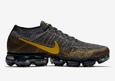 Nike Vapormax Black/Yellow 849558-021 Available Now | SneakerNews.com