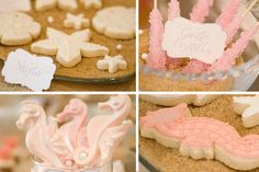 pink, under the sea sweets!
