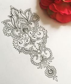 Olivia-Fayne Tattoo Design - EYE CANDY This is very pretty. Would love to do something like this down my back. Tattoo Dotwork, Tatuajes Tattoos, Tattoo Forearm, Mehndi Tattoo, Calf Tattoo, Future Tattoos, New Tattoos, Body Art Tattoos, Olivia Fayne Tattoo