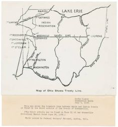 Treaty of Greeneville - Ohio History Central Battle Of Fallen Timbers, Anthony Wayne, Ohio Map, Native American Indians, Native Americans, Ohio River, Indiana University, Shawnee, Found Out