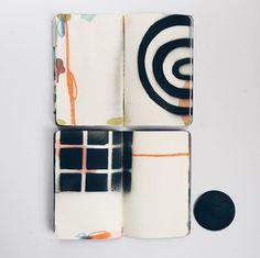 sketchbook of Eva Magill-Oliver Artist Journal, Artist Sketchbook, Art Journal Pages, Art Journals, Sketchbook Inspiration, Painting Inspiration, Sketchbook Ideas, Joan Mitchell, Illustrations