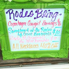 Rodeo Bling Sale! Get into the boutique before the Ranch Rodeo Friday night!