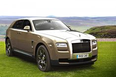 New Rolls Royce SUV