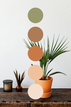 Colour Pallete, Colour Schemes, Earthy Color Palette, Plant Logos, Decor Logo, Piece A Vivre, Room Colors, Colours, World Of Color