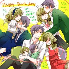 Anime Love Couple, Cute Anime Couples, Monthly Girls' Nozaki Kun, Animes To Watch, Gekkan Shoujo Nozaki Kun, Happy Vibes, Anime Profile, Hetalia, Manga Anime