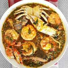Discover recipes, home ideas, style inspiration and other ideas to try. Okra Recipes, Seafood Recipes, Cooking Recipes, Recipies, Sauce Gombo, Ghanaian Food, Nigeria Food, West African Food, Haitian Food Recipes