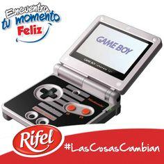 ¿Recuerdas esta divertida consola? #LasCosasCambian