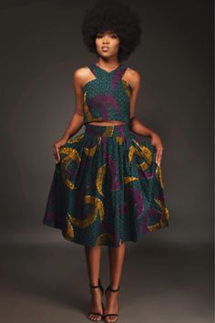 african print dresses From the office to leisure settings, this versatile African print peplum skirt fits into any wardrobe. Shop unique ankara styles at Kuwala. African Inspired Fashion, Latest African Fashion Dresses, African Print Dresses, African Print Fashion, Africa Fashion, African Dress, Women's Fashion Dresses, Fashion Prints, Ankara Fashion