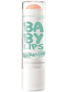 Medicated lip balm is a fall lifesaver!