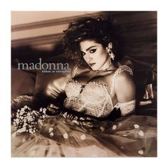 Madonna Official Store | Official Like A Virgin Album Cover Lithograph. Limited Collector's Edition 1/1000