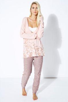 Venda Twin set / 27999 / Mulher / Homewear / Camisola comprida Rosa