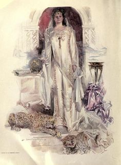 Tennyson, illustrated ~ 1911