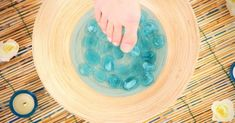 When warmer weather starts to overtake winter's chill, we can hardly wait to swap out our boots for sandals. Make sure your feet are ready with this DIY soak!