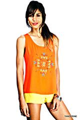 Brighter Than the Sun Neon Top