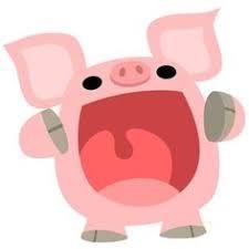 Image result for cute pig cartoon