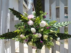 Arch Centerpiece created by @CarlettaChadwell.  After the ceremony this beautiful piece was donated to an assisted living facility in Carlsbad, California. <3