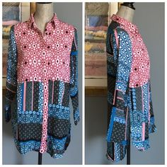 Jessica Simpson Silky Button Down Blouse Gorgeous silky print button down top from Jessica Simpson .  Made of 100% polyester .  Machine wash/dry .  Wear casually with cute capris  , leggings or jeans or dress it up with a fabulous skirt !  Very versatile and lovely ! Jessica Simpson Tops Button Down Shirts