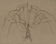 Spiders by gabalut on DeviantArt Dark Art Drawings, Pencil Art Drawings, Art Drawings Sketches, Art Sketches, Sketch Drawing, Sketching, Spider Drawing, Spider Art, Drawing Poses