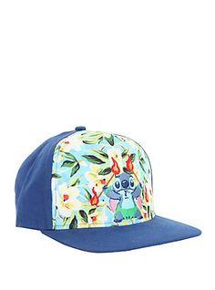 Disney Lilo & Stitch Fire Dance Snapback Hat,