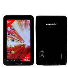 """MioMundo - Tablet Android D10. WonderMedia Cortex A9 de 1,2Ghz. RAM 1Gb. ROM 8Gb. Pantalla 10"""" Capacitiva Multitáctil. Resolución 1024x600. HDMI. Android 4.1. Color negro. B00DU9DEFG - http://www.comprartabletas.es/miomundo-tablet-android-d10-wondermedia-cortex-a9-de-12ghz-ram-1gb-rom-8gb-pantalla-10-capacitiva-multitactil-resolucion-1024x600-hdmi-android-4-1-color-negro-b00du9defg.html"""