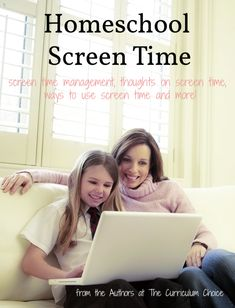 Homeschool Screen Time by The Curriculum Choice Authors - management, thoughts and ways to use screen time for the best. Kindergarten Worksheets, Worksheets For Kids, Fun Learning, Teaching Kids, Homeschool High School, Homeschooling, Teaching Textbooks, Technology Management, Kids Mental Health