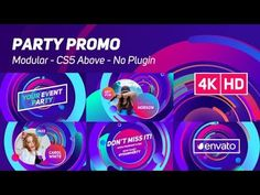 Party Promo | After Effects Template