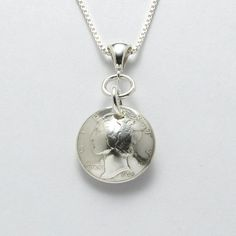 70th  1945 US Dime Necklace 70th Birthday or by CoinCollection
