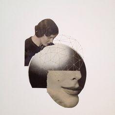 """Y ya sólo queda el último paso para completar el """"Collagè a Trois"""" que empezó @aurora_gorrion que después he adornado yo. Ahora alguien lo recibirá por sorpresa. Así lo hemos decidido para darle emoción :) :) espero que le guste a su destinatario.  #collageatrois #collagesmafia #collage #handmadecollage #art #arte #collageart #collageartist #collageillustration  #artwork #vintage #visualart #collagecontemporary #artpaper"""