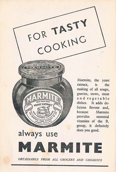 "MARMITE 1970""S VINTAGE POSTER METAL 8""X6"" SIGN in Home, Furniture & DIY, Home Decor, Plaques & Signs 