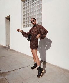wears the Odessa Chelsea from our new collection The Frye Company, Clog Boots, Chelsea Boots, Street Style, My Style, How To Wear, Stuff To Buy, Outfits, Shopping